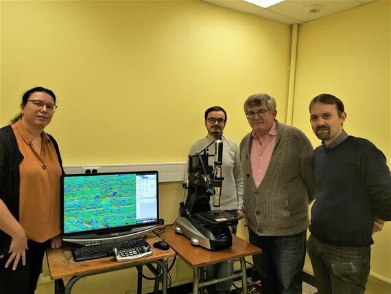 Arrivée du Microscope VHX campus Lille
