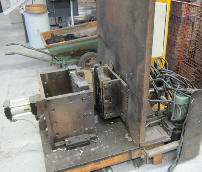 Coquilleuse métallique