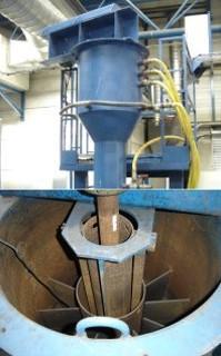 Prototype de recyclage de sable fonderie